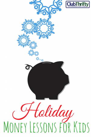 The Christmas season is over (thank God). However, we used this season as a chance to teach our kids some important money lessons. Here they are!
