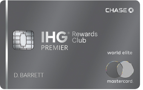 IHG Rewards Club Premier credit card