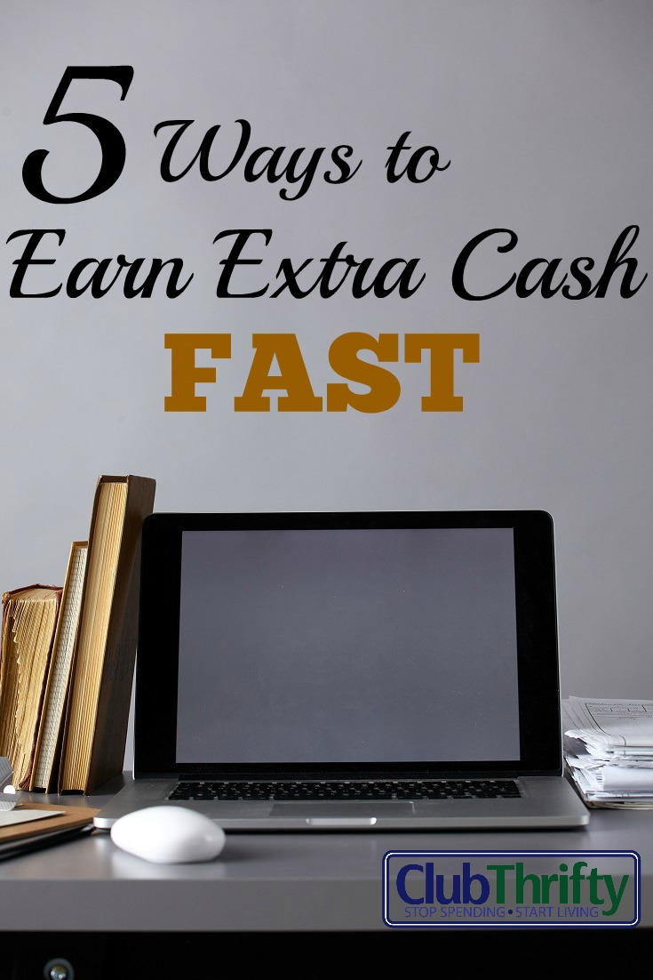 Thanks to the internet there are practically unlimited ways to earn extra cash. Here are 5 of ways that you can start making extra money online today!