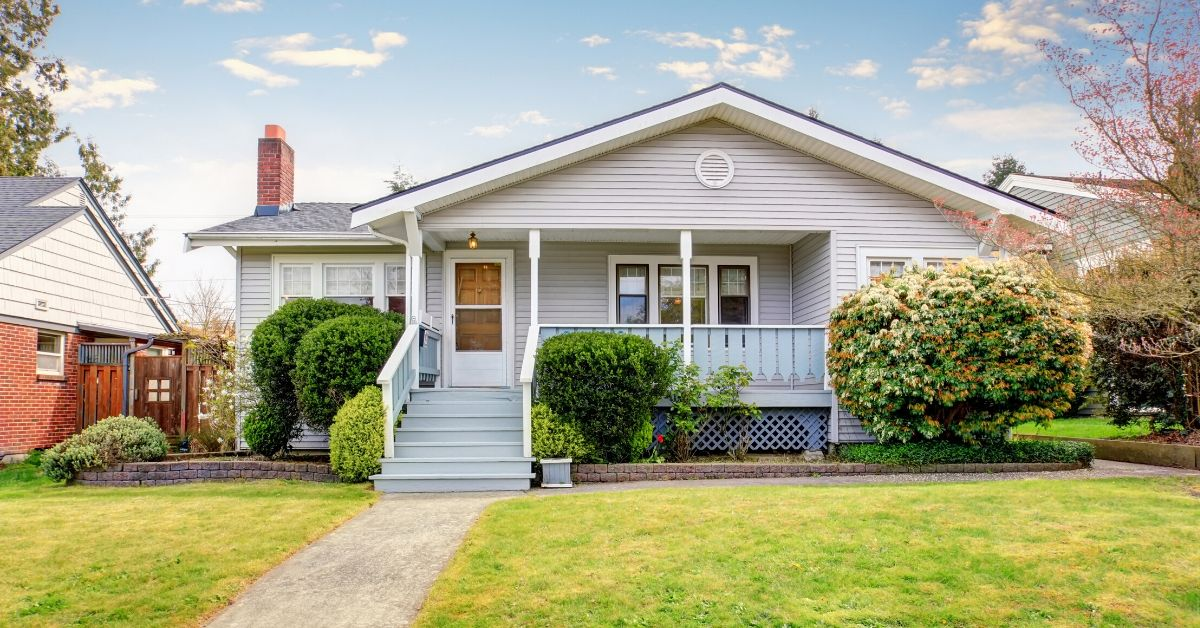 Why My Rental Properties are a Good Investment - picture of small white house