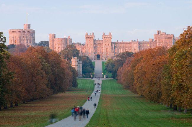 Windsor Castle at Sunset
