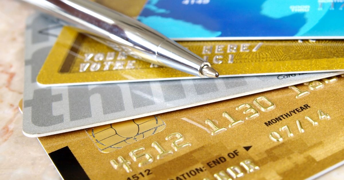 The WORST Way to Get Out of Debt - picture of credit cards