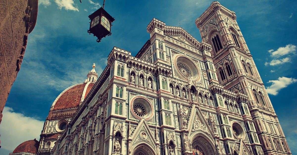 Our Budget Italian Getaway - picture of church in Florence, Italy