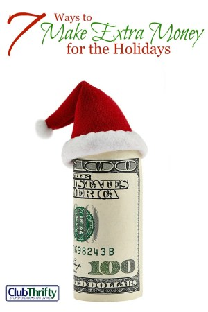 The holidays can be hard on your budget, but you don't have to go into debt to fund them. Here are 7 great ways to make extra money for the holidays!