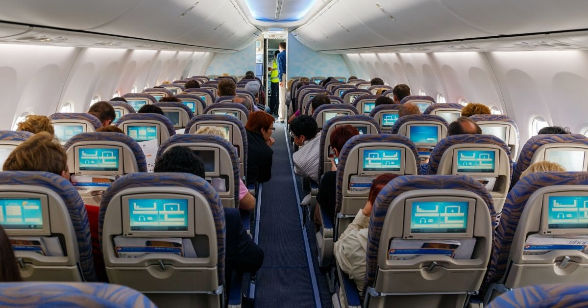 Here's What Flying to Europe in Coach is Like