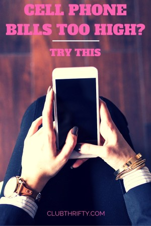 Great information on how to save money on your cell phone bills! Love it!