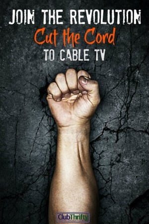 Are you still paying for cable TV? That's plain silly! Now, you can cut the cord to cable, save money, and still enjoy your favorite shows! Here's how.