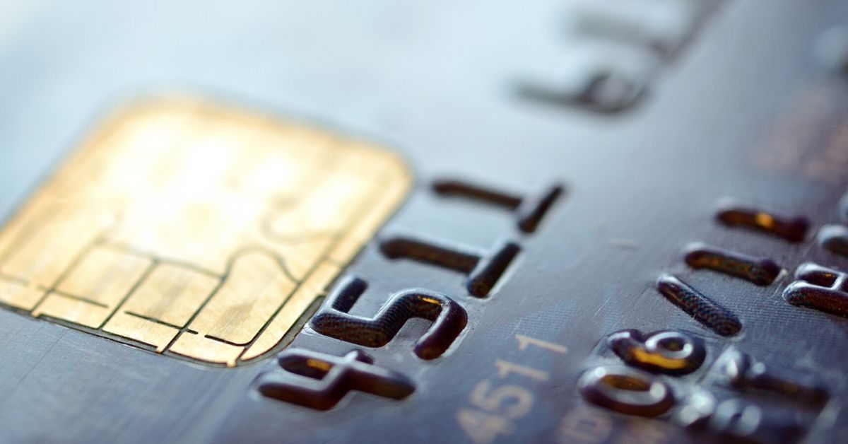 EMV for a Week Challenge - picture of credit card chip