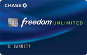 Chase Ultimate Rewards - Chase Freedom Unlimited