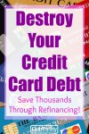 2 Easy Ways to Refinance Credit Card Debt