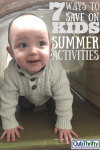 7 Ways to Save on Summer Activities for Kids