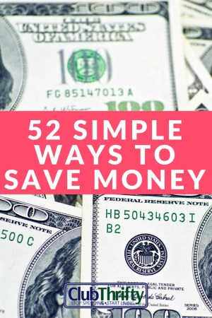 Wow! Here's a huge list of how to save money on food, clothes, entertainment, travel, and more. Great resource!
