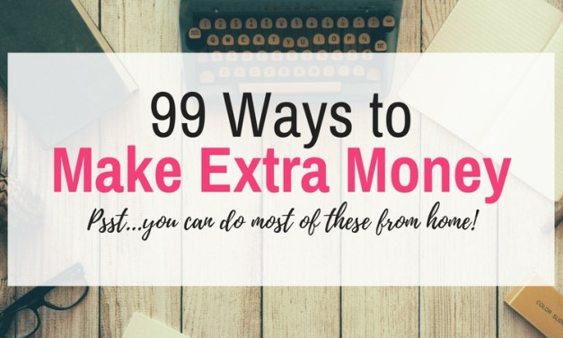 99 Ways to Make Extra Money This Year
