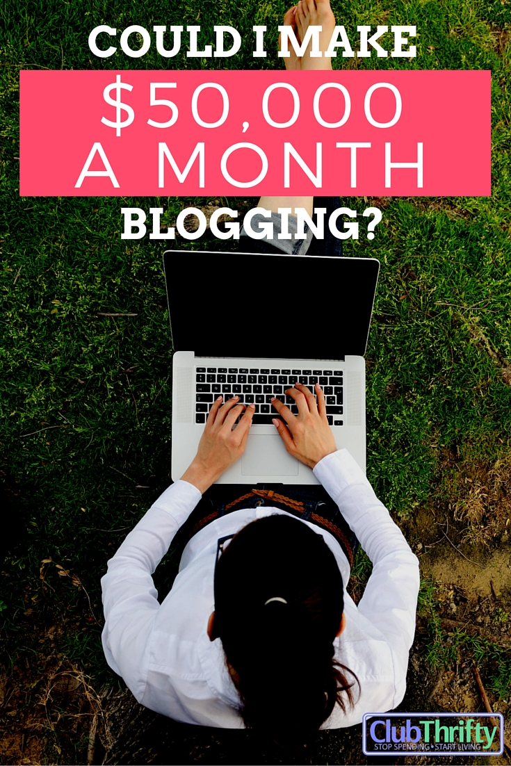 Love this! Great interview about how Michelle makes over $50K a month blogging through affiliate marketing.