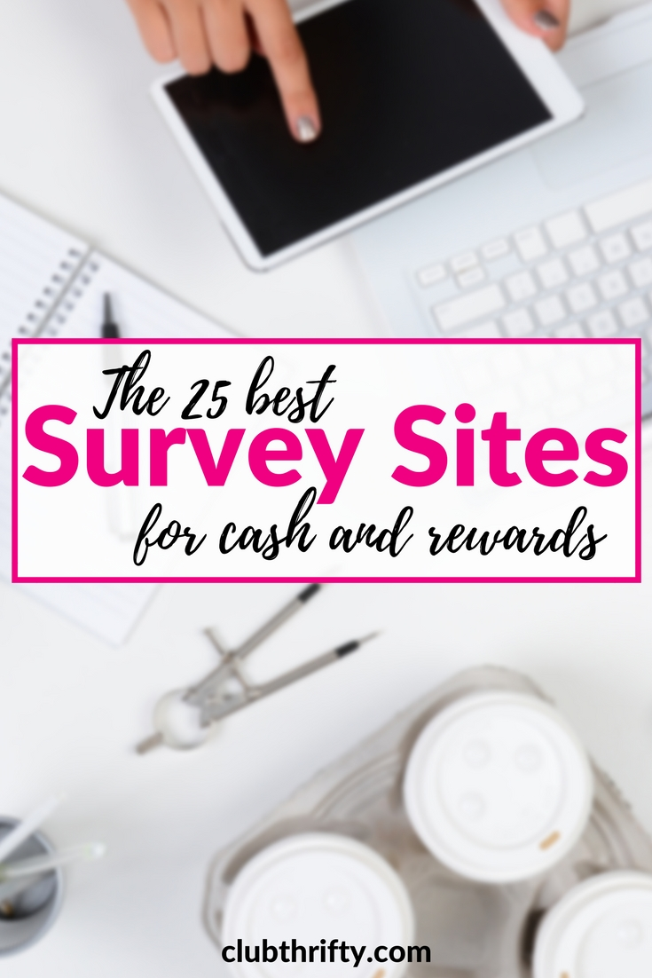 Did you know that you can take surveys for money and earn cash from your couch? It's true. Here's our list of the best survey sites for 2018!