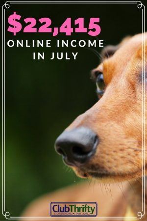 Incredible income update! I can't believe how much money she makes online. Plus, details on her new writing course.