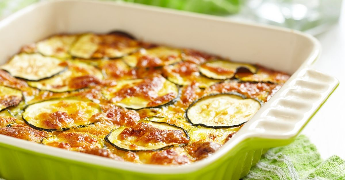 Zucchini Recipes We're Trying This Summer - picture of zucchini casserole
