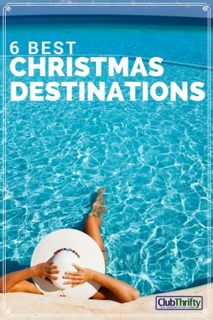 Looking for the best Christmas vacation ideas and destinations? Enjoy some of our favorite holiday spots in the U.S. and Caribbean!