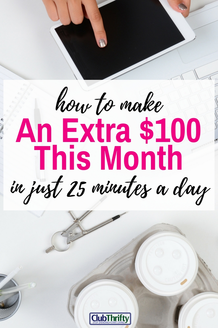 Great ideas for earning extra money while you watch TV! I use the money for travel and bills.