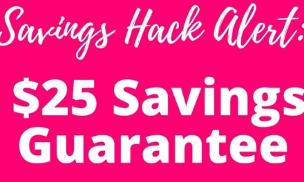 Hack Alert: Coupons.com Savings Gurantee