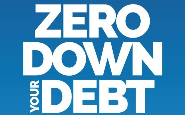Zero Down Your Debt Prelim Cover landscape
