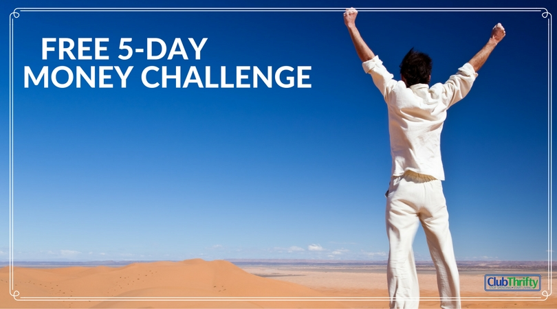 Tired of living paycheck to paycheck, bills piling up, and never getting ahead? Take our FREE 5-day money challenge! Details here.