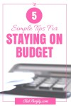 5 Ways We Crush Our Budget Every Month