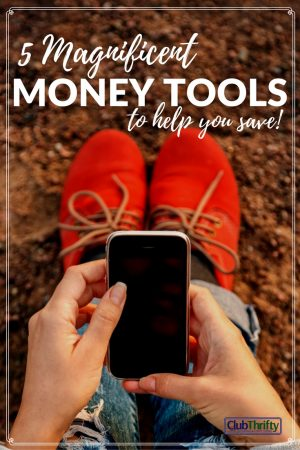 Great list of money tools that can help you save more this year!
