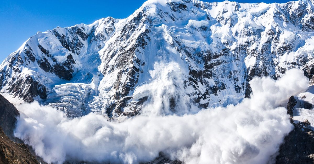 Debt Avalanche Method - picture of mountain avalanche