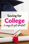 Saving for College: 5 Options for Handling College Costs
