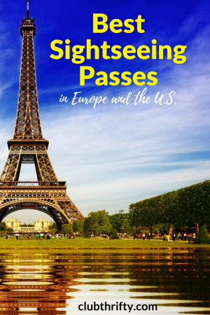 City passes are a great way for tourists to save time and money. We help you discover the best sightseeing passes in Europe and the U.S. here!