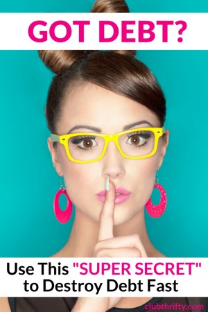 """Want to pay off your debt but don't know where to begin? Read our Pay Down My Debt review and learn the super """"secret"""" way to get started. Shhhhhhhh!"""