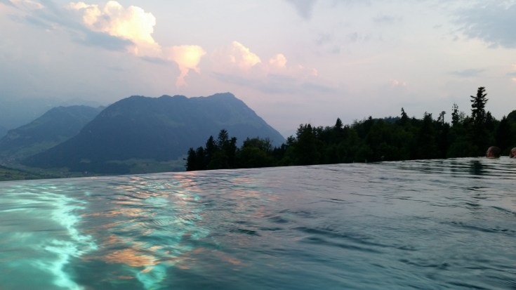 Want to enjoy one of the best pool views in the world? Learn how in our Hotel Villa Honegg review, and see what we thought of this stunning Swiss hotel!