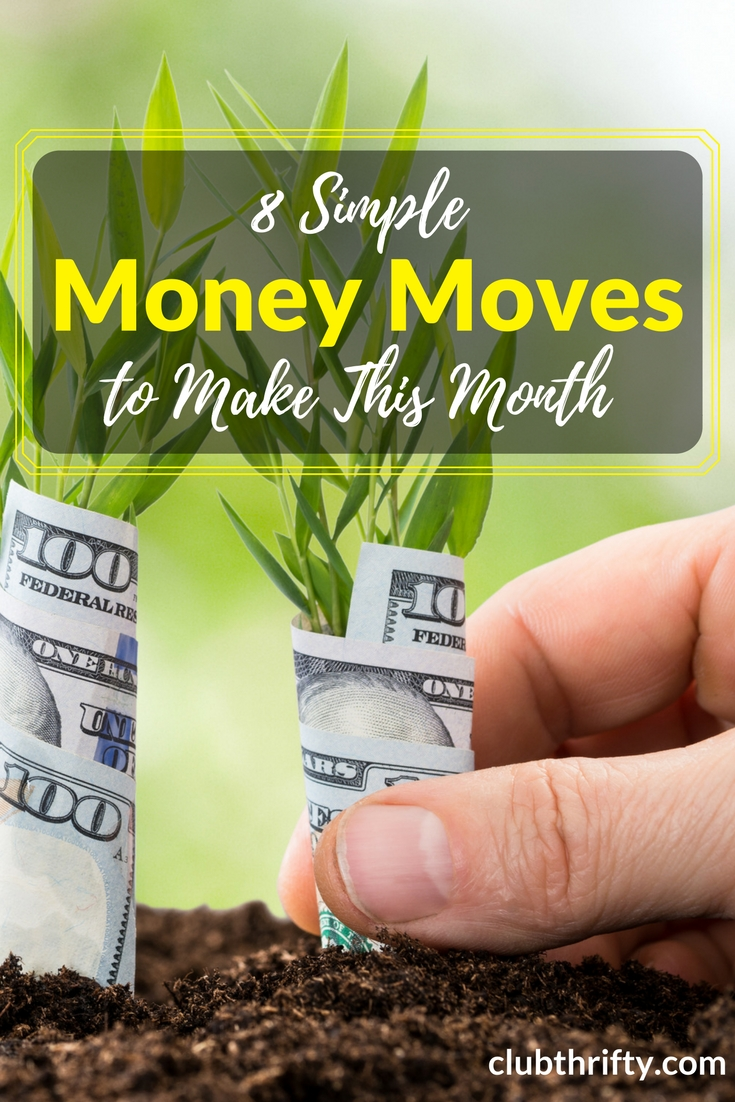 Getting ahead can feel overwhelming, but the hardest part is getting started. Take a deep breath and simplify the process with these painless money moves.