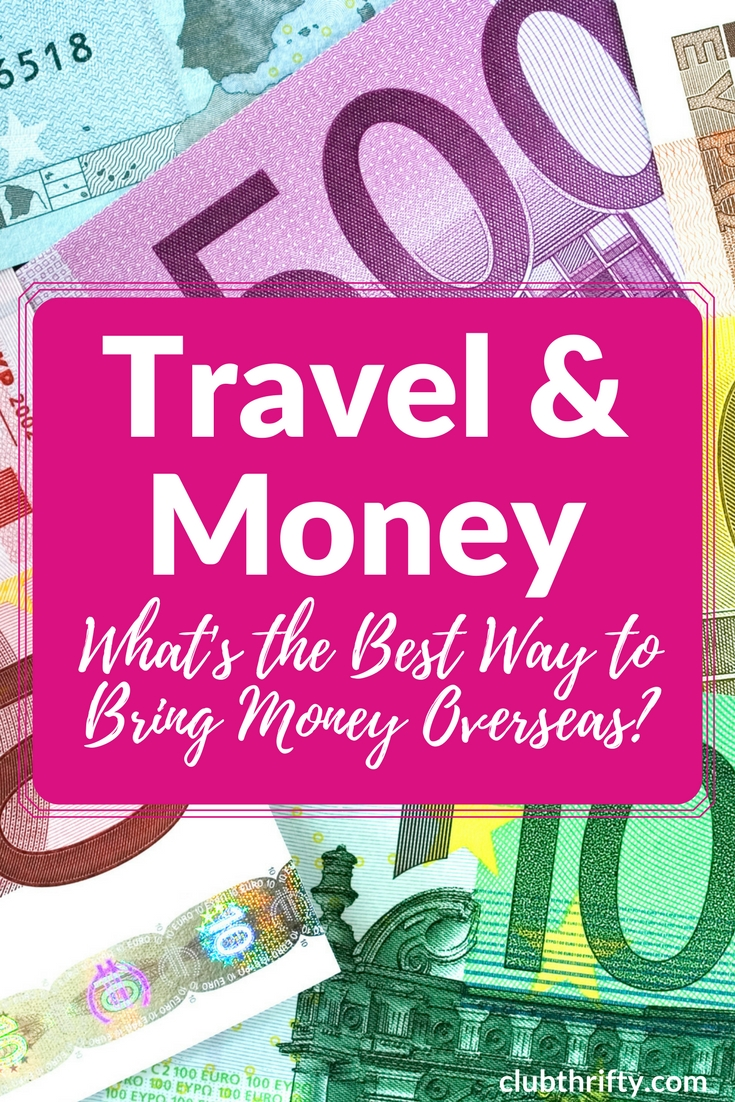 What's the best way to travel with money? Learn our favorite way to carry money while traveling, plus discover some other tips for handling money abroad!