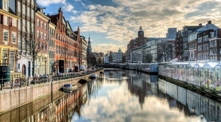photo of Amsterdam canal
