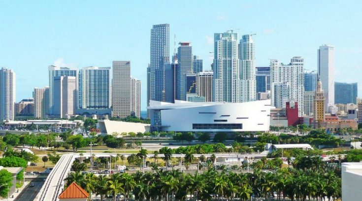 cheapest vacation spots - image of Miami skyline