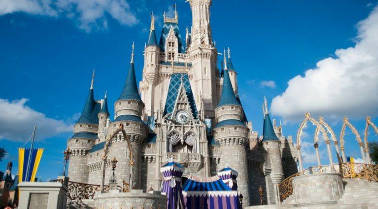 image of Disney World Magic Kingdom castle