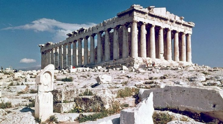cheapest countries to visit - photo of Parthenon in Athens, Greece