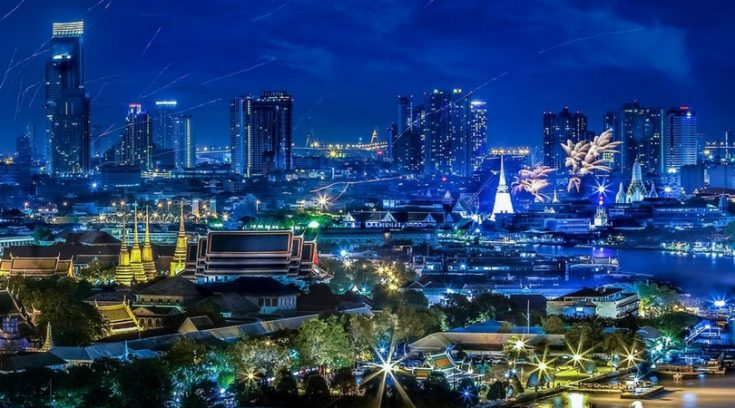 cheapest places to travel - image of Bangkok Thailand skyline