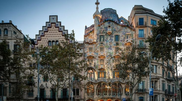 image of Goudi architecture in Barcelona