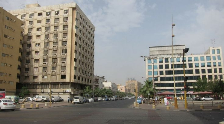 best places to travel - image of street in Dammam