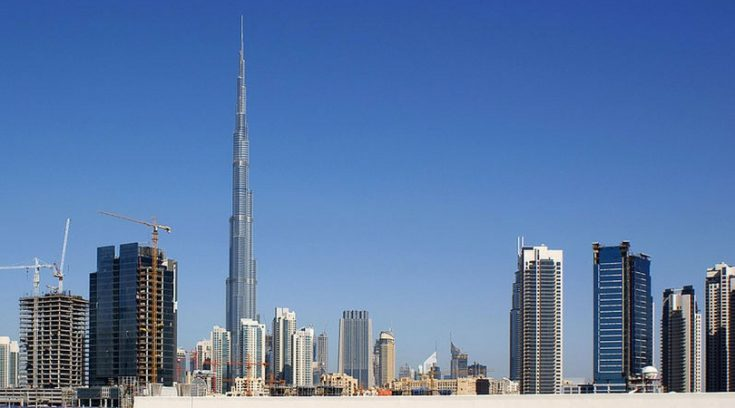 cheapest countries to visit - skyline of Dubai