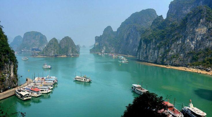 cheap vacation spots - Ha Long, Vietnam