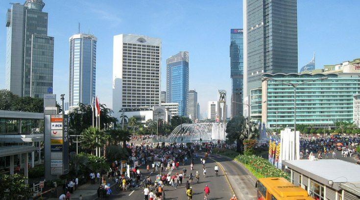 image of Jakarta Indonesia skyline