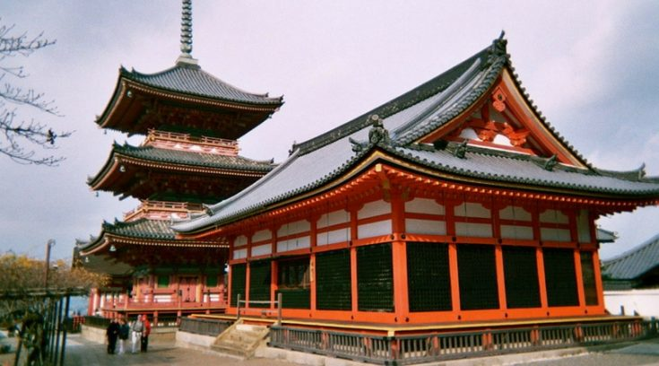 image of temple in Kyoto