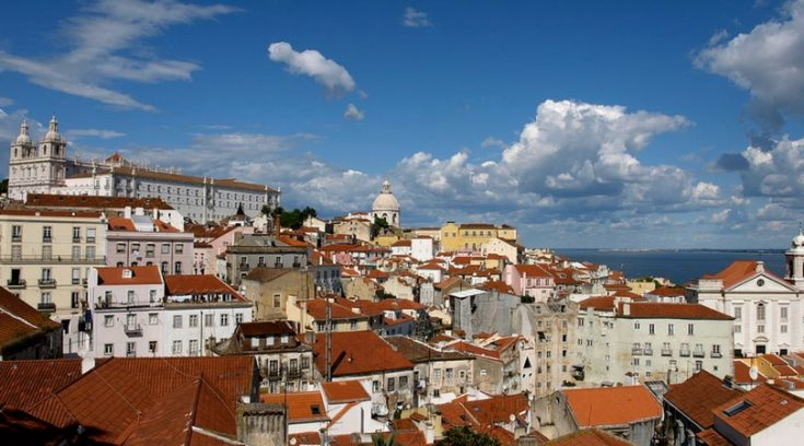 cheapest vacation spots - skyline of buildings in Lisbon
