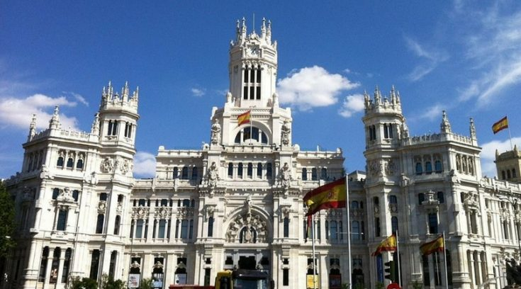 cheap places to travel in spain - image of Royal Palace in Madrid