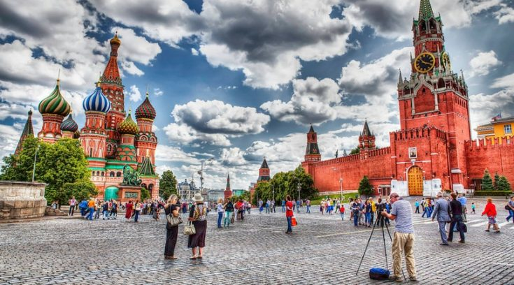 cheapest countries to visit - image of Red Square in Moscow, Russia