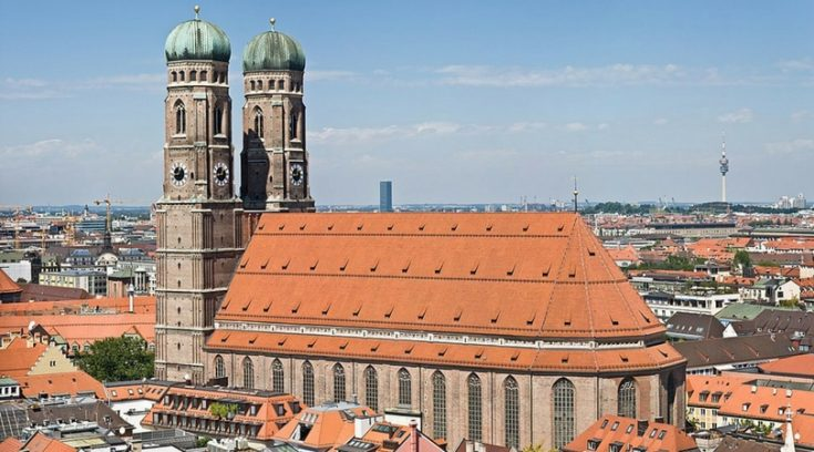 affordable travel destinations - image of church in Munich